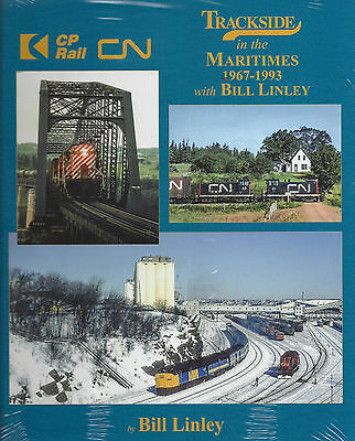 Trackside in the MARITIMES, 1967-1993, Canadian National, Canadian Pacific (NEW)