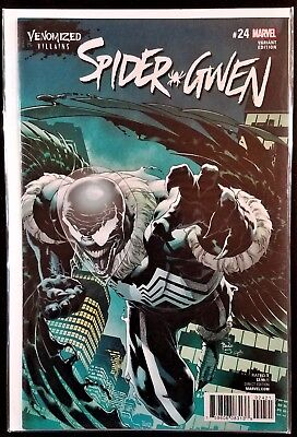 Marvel SPIDER-GWEN #24 Venomized Villains Variant NM/M