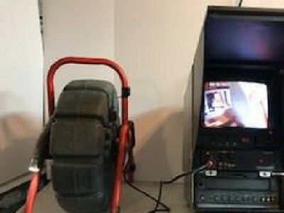 Ridgid Pipeline Inspection Camera System Black and White VCR with Mini Reel