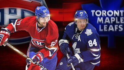 2 tickets Montreal Canadiens vs Toronto Maple Leafs 4/6/19