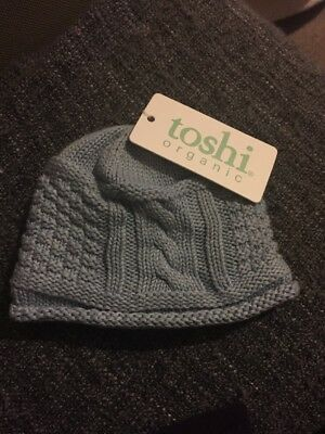 Toshi Toddler Kids Beanie Blue Size XSmall