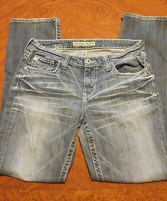 Women's Big Star jeans size 30 R Waist and 30 in. Length Straight leg