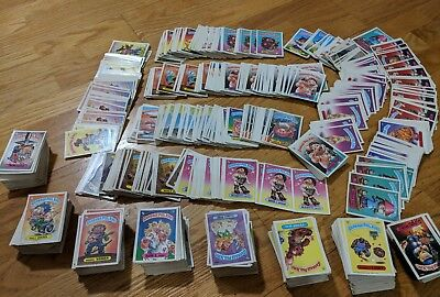 Lot Of 1500 Garbage Pail Kids Cards 1980s