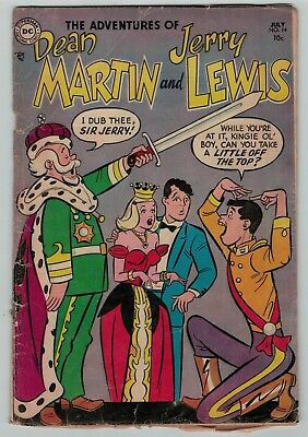 Adventures of Dean Martin and Jerry Lewis 14 July 1954 Poor FR compl DC pre-code