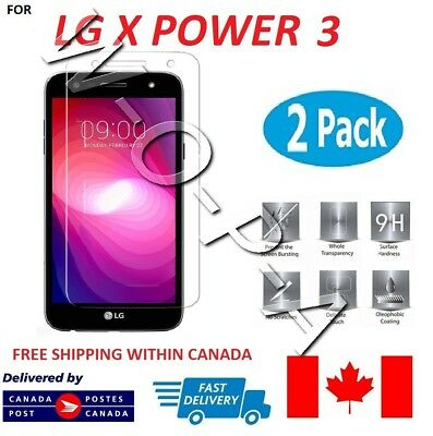 Fits LG X Power 3  Premium Tempered Glass Screen Protector