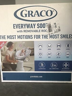 Graco EveryWay Soother with Removable Rocker. Brand New
