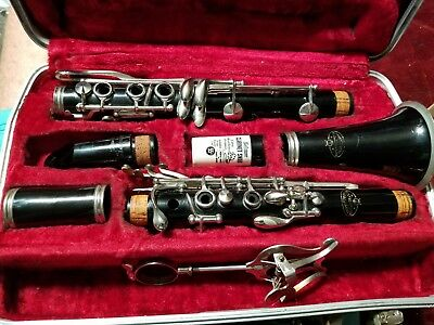 Evette Buffet Clarinet With Hard Case Made In Germany