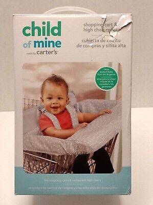 Child of Mine Washable, Padded Shopping Cart and High Chair Cover by Carter's