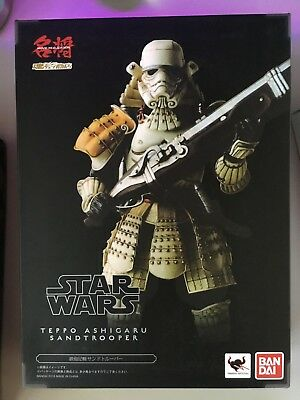 Bandai Tamashii Nations Movie Realization Star Wars Teppo Ashigaru Sandtrooper