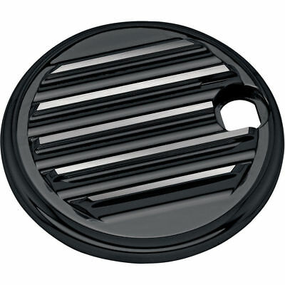 Carl Brouhard Black Finned Fuel Door for 1992-2007 Harley Touring
