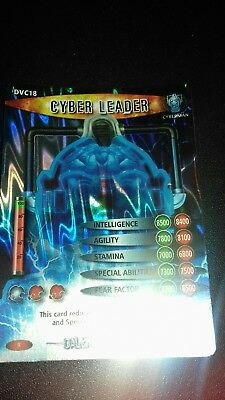 dr who battles in time dalek v cybermen card 18