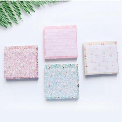 Sticky Notes Notebook Memo Pad Bookmark Paper Sticker Notepad Stationery FW
