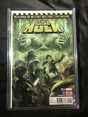 Totally Awesome Hulk #22 - Nm/nm+ Wmd 1St Weapon H 1St Print Marvel Comics