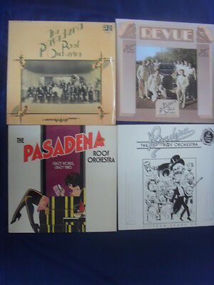 4 Lp- The Pasadena Roof Orchestra Revue Fifteen Years On Crazy Words Crazy Tunes
