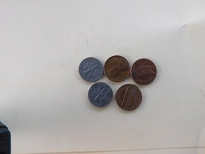 Coins.us.lot.of.5.1970...#982