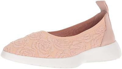 Taryn Rose Womens Daisy Knit Fabric Low Top Slip On Fashion Sneakers