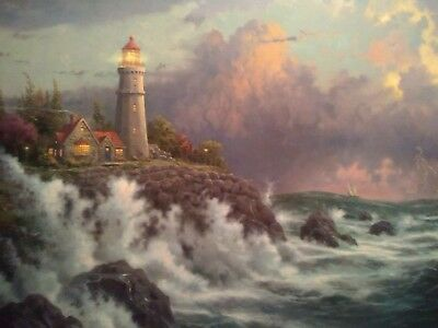 """""""CONQUERING THE STORM"""" THE LIMITED EDITION COLLECTION By Thomas Kinkade"""