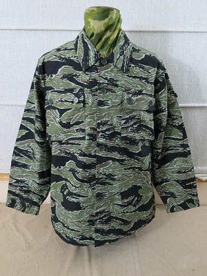 Gr. M US VIETNAM TIGER STRIPE Feldjacke Uniform Jacke Special Forces LRRP MIKE