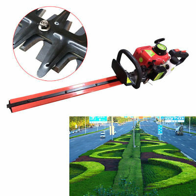 22.5Cc Garden Hedge Trimmer Petrol Trimmer Chainsaw Brush Cutter Multi Tool Uk