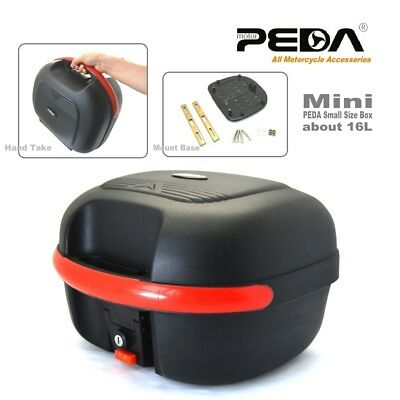 2018 PEDA Motorcycle Top Case 16L e Bike Box ebike luggage Electric Scooter