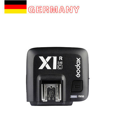 Godox X1R-C 2.4GHz TTL Wireless Camera Flash Trigger Receiver para Canon