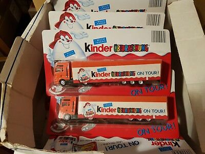 Ferrero Ü-Ei Trucks Tracks Kinderüberraschung On Tour