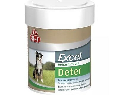 Dog training - Excel Deter Coprophagia Treatment 100 count 8in1 (100 Tabs)