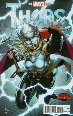 Thors #4 1:25 Variant Cover by Dale Keown