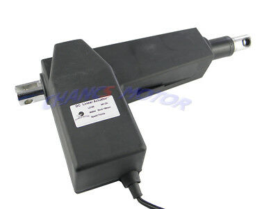 CHANCS DC Linear Actuator Motor 12/24V Electric Actuator 400-800mm Max 1700lb