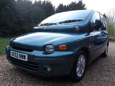 Rare Up Front wheelchair accessible vehicle (WAV). Fiat Multipla petrol