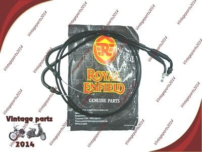 Royal Enfield GT Continental Throttle Cable Part No. 585620