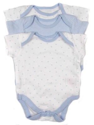 Baby Boys Vests Pack Of Three Tiny Baby up to 5lbs Premature Baby