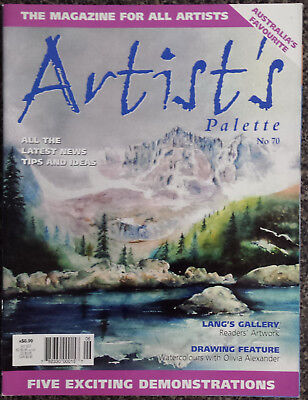 Artist's  Palette Magazine No.70Five Exciting Demonstrations