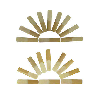 SLADE Soprano Tenor Sax Saxophone Reeds for Woodwind Parts Pack of 10