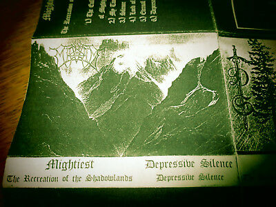 Mightiest The Recreation Of The Shadowlands Depressive Silence Original Tape
