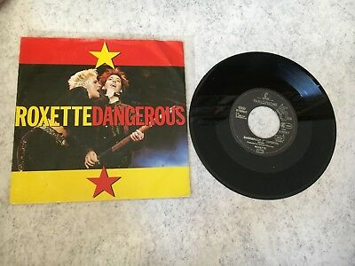 "Roxette ++ 7"" Single ++ Dangerous ++ Germany/Deutschland"