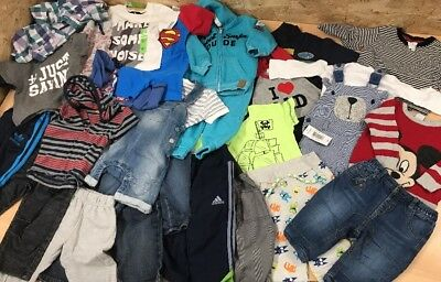 Baby Boys Clothes Clothing Bundle Job Lot 3-6 6-9 9-12 months mixed 25 Items