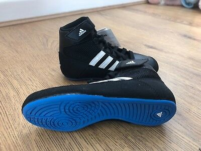 adidas boxing shoes kids, new, Black