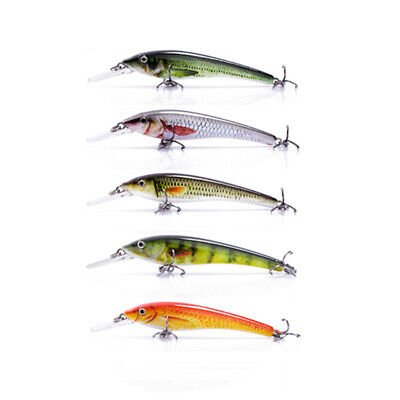 1pc 77mm  3.5g Small Minnow Fishing Lures Top Water Floating Fish Bait Wobbler