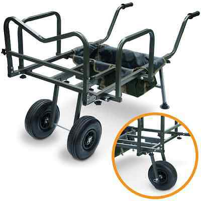 New XXL Trolley Barrow Transport Cart for Carry all ,Carp Bed & Tackle