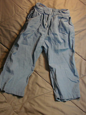 Vintage 50s Childs Boys Light Denim Pants Elastic SEARS ROEBUCK 4