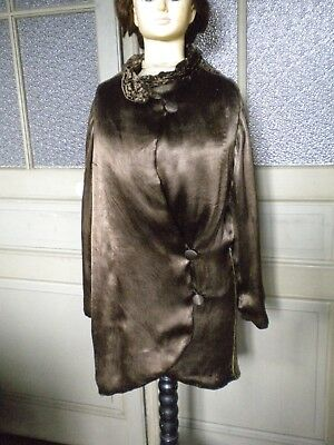 manteau 1920 marron