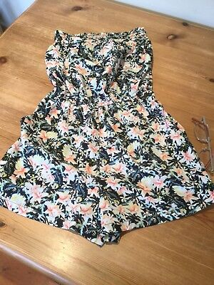 New Look Age 11 Multi Coloured  Strapless Short Suit