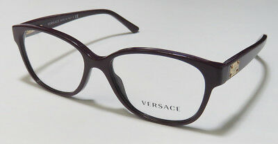 Versace 3177 Beautiful Sleekitalian Cat Eys Eyeglasses/eyewear/eyeglass Frame