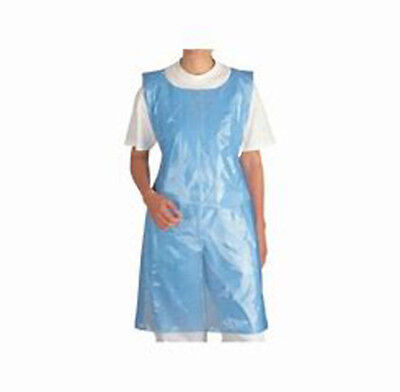 "Denny/'s Polythene Disposable Aprons 5 Colours Available 200 Roll 27/"" x 42/"" WHITE"