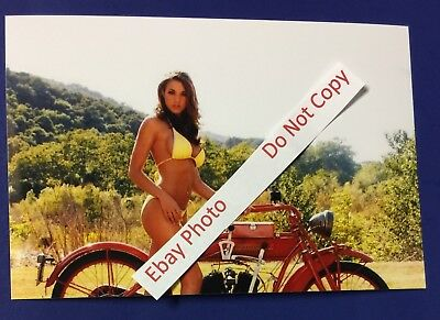 Indian Motorcycle Color Photo ~ Glossy Archive Paper