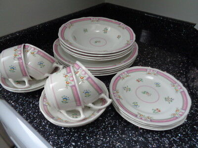 Laura Ashley Alice Dinner Service For Four