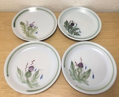 Vintage Buchan Scottish Pottery Plates