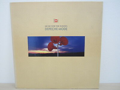 LP /  Depeche Mode ‎– Music For The Masses /  Vinyl- Album, Blue / RARITÄT /