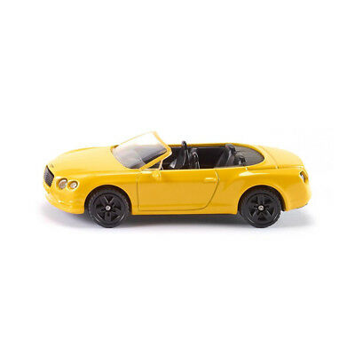 Siku 1507 Bentley Continental Gt V8 Convertible Yellow Model Car (Blister Pack)
